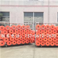 FT40*100拦污管线浮筒,塑料拦截浮子生产厂家