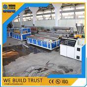 300-600mmPVC木塑墙板设备生产线