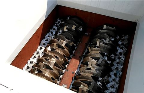 塑料工业膜双轴撕碎机