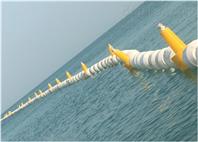 郧阳水上拦渣浮筒拦水草浮漂生产批发