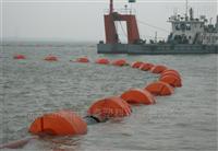 FT50*80*25抗腐疏浚管线浮体10寸塑料浮筒