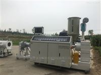 MPP頂管拖拉牽引電力電纜擠出機生產設備