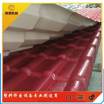 仿古琉璃瓦機器設備 PVC塑料瓦設備