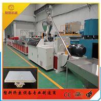 PVC木塑发泡护墙板生产线设备