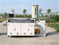 SJ系列65单螺杆塑料管材挤出机生产设备