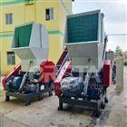 HDPE塑料大蓝桶撕碎破碎粉碎机械