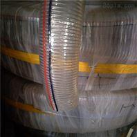 透明钢丝PVC管 耐磨PVC管 钢丝螺旋PVC管