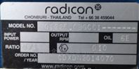 Radicon真空泵减速箱型号M01225