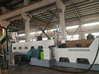 薄膜挤干料双阶造粒生产线韩国客户现场验收