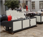 同心轴设计塑料破碎料水份脱水处理挤干机械