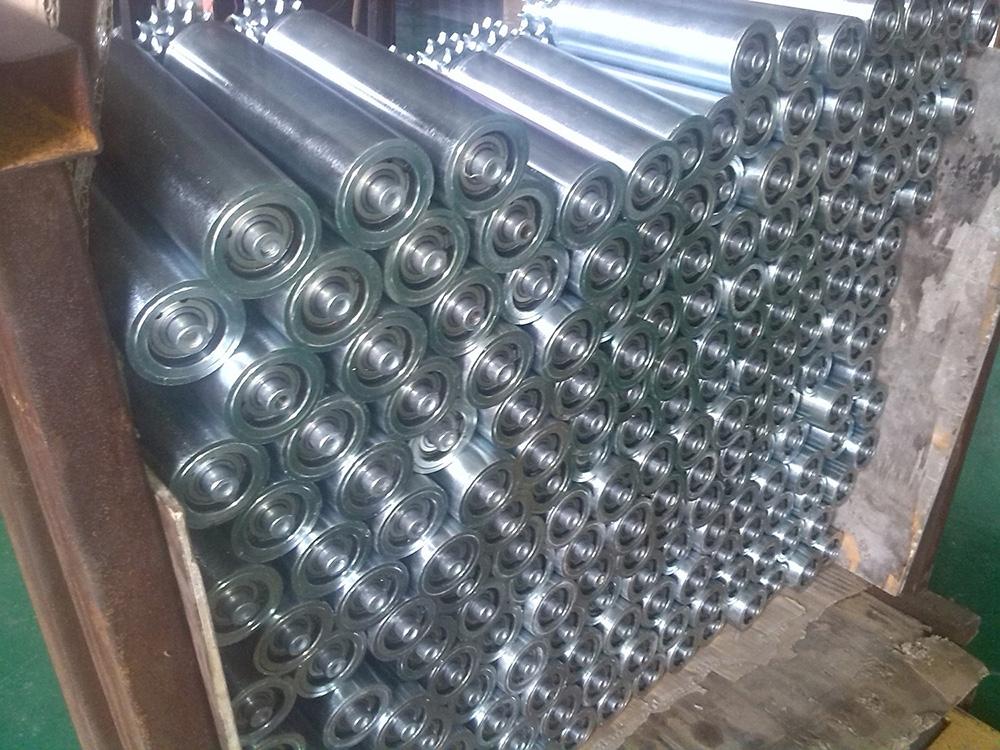 西安无动力滚筒上海快3 倾斜输送滚筒生产分