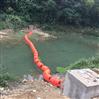 河道攔截垃圾浮漂景區湖面攔垃圾PE浮筒
